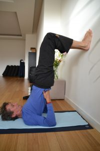 16 supported shoulderstand